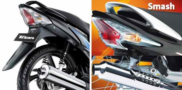 Suzuki Smash 115 Setup Suzuki Titan 115 vs Smash 110