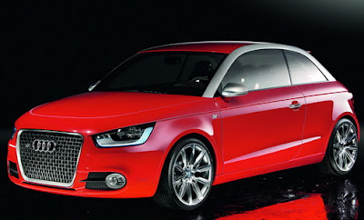 Audi A1 Mini three doors version