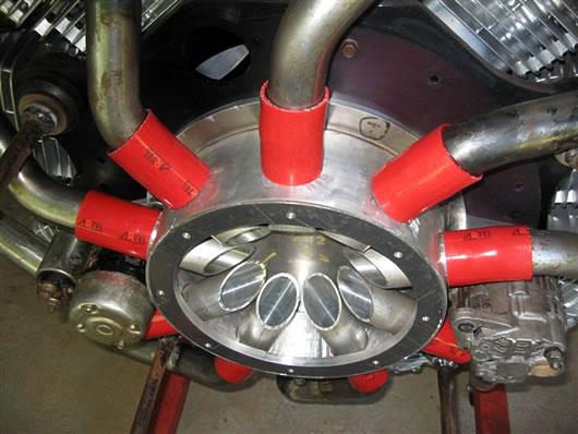 Xr Radial C on Bristol Centaurus Sleeve Valve Engine