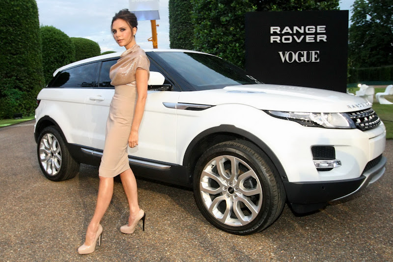 Range Rover's New Creative Design  Victoria Beckham model