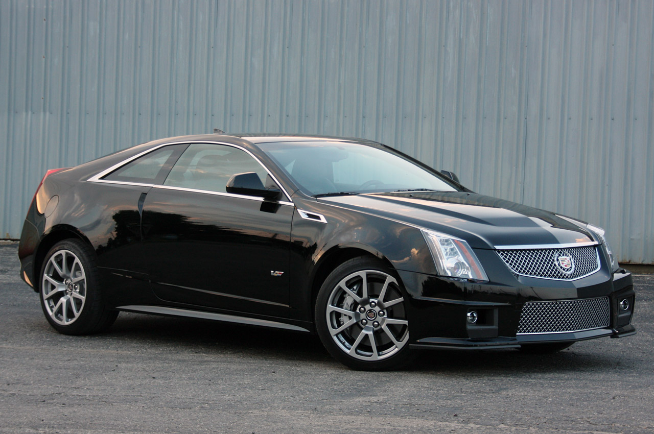 2011 cadillac cts v coupe review first drive and. Black Bedroom Furniture Sets. Home Design Ideas