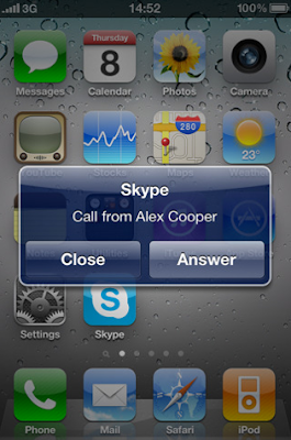 Now Skype multitasking available for iPhone 4 and 3GS, 3G calls to stay free