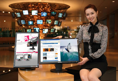 Monitor Samsung's 24-inch SyncMaster FX2490HD