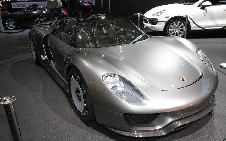photo 2011 Porsche 918 Spyder hybrid