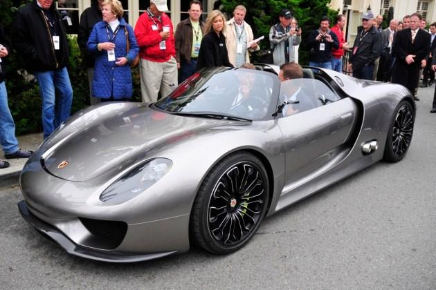 Spyshot 2011 Porsche 918 Spyder hybrid