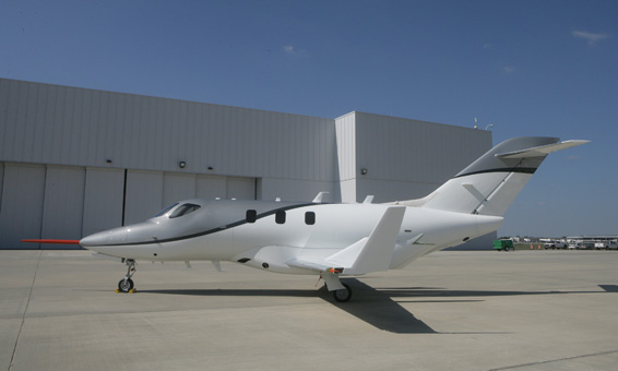 The $4.5 million HondaJet Released at 2010 NBAA