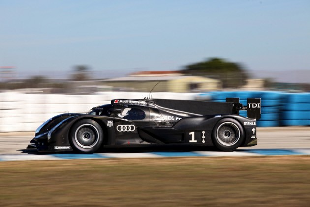 Successful Test For Audi R18 at Sebring