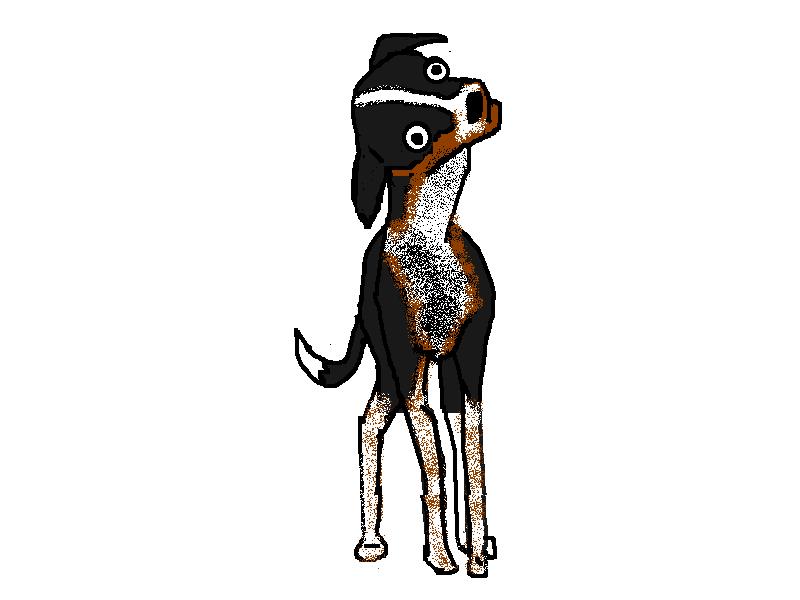 hyperbole and a half  dog
