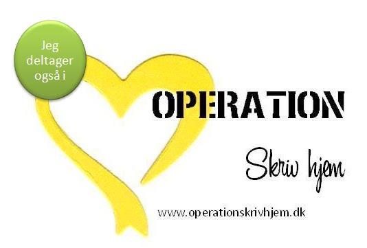 Operation skriv hjem