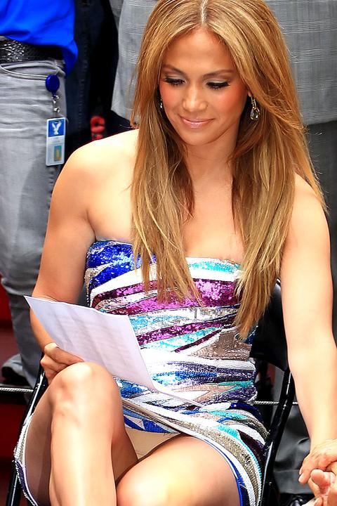 Nuevo descuido de Jennifer Lopez