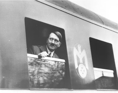 Hitler on the train