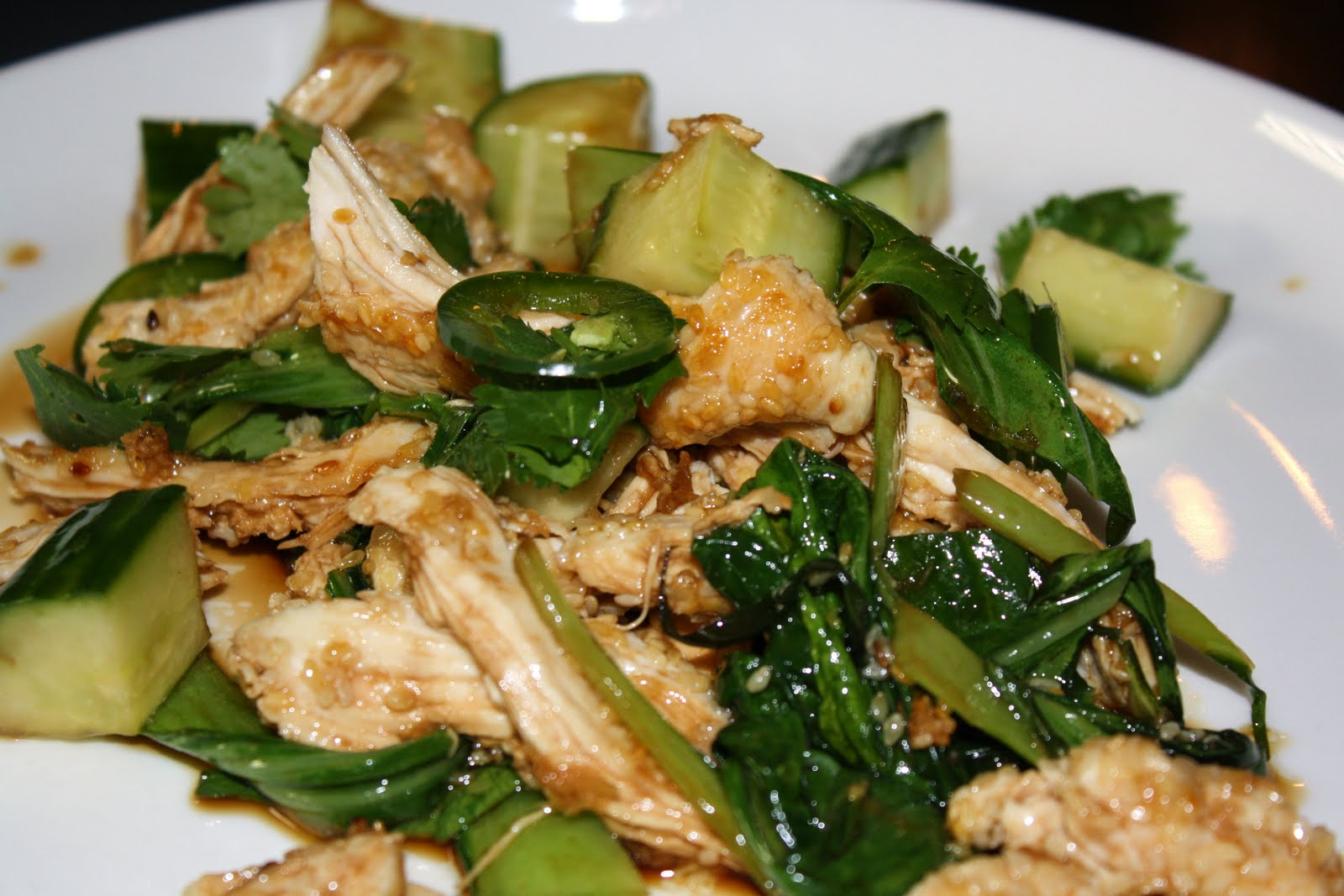 sesame lime chicken salad recipes dishmaps sesame lime chicken salad ...