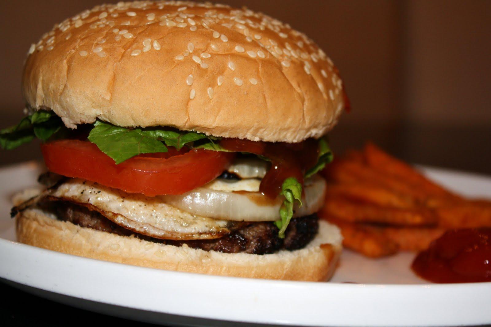 Aussie burgers... 20 minutes