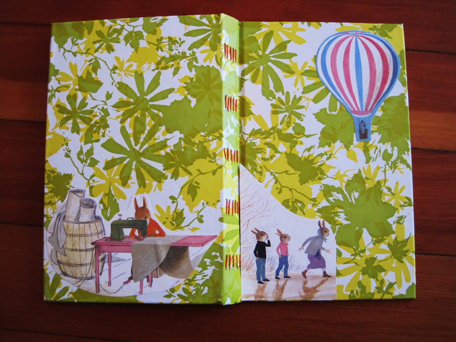 How To Make A Recycled Book Cover ~ Bean d i y recycled book journal