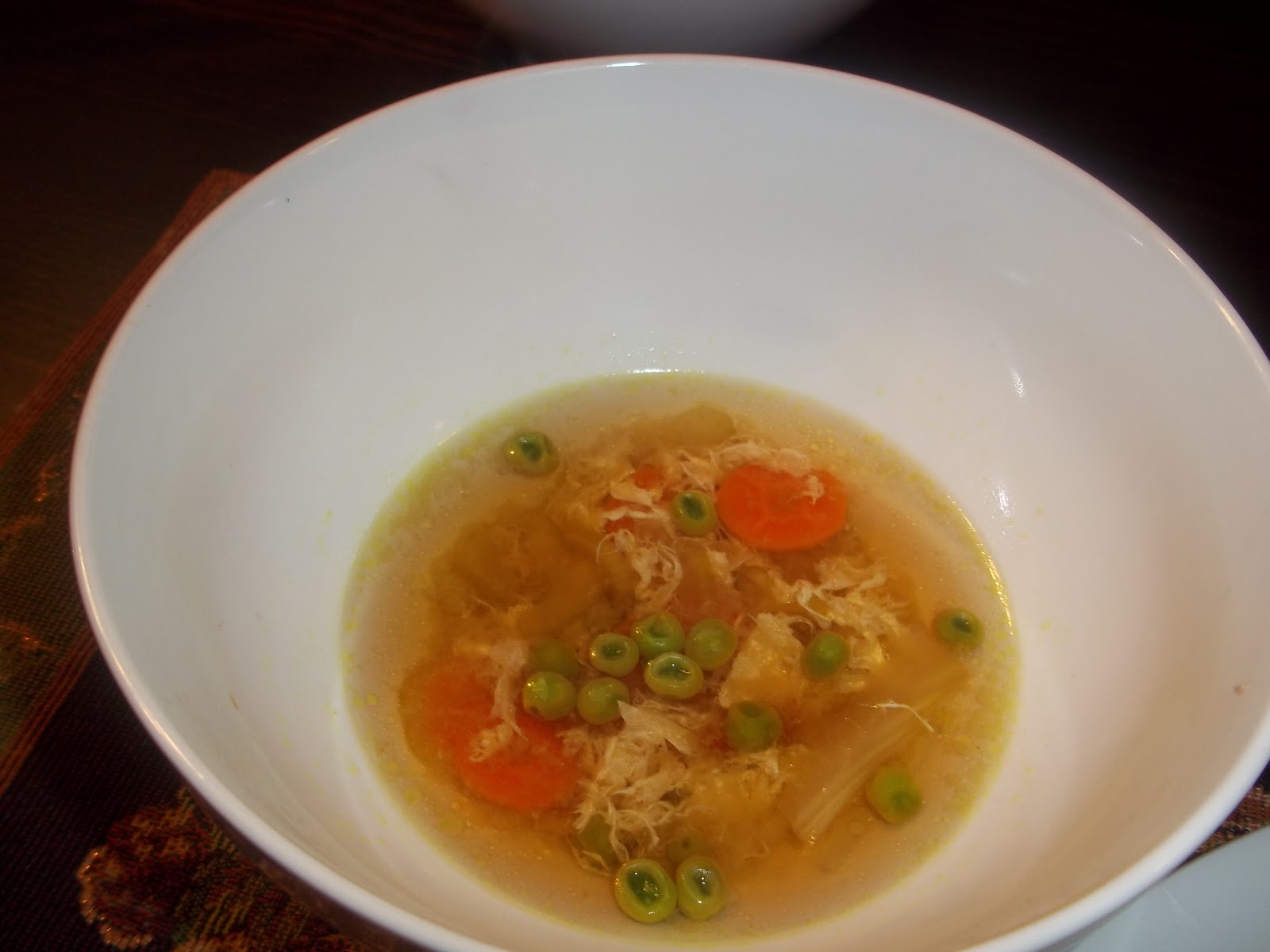 The Carter Family Table: Weight Watcher Egg Drop Soup