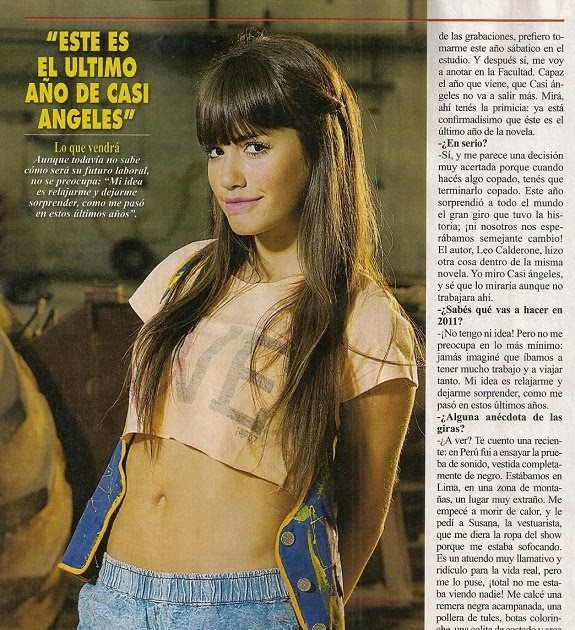 Todo de cris lali en revista pronto for Revista pronto primicias ya