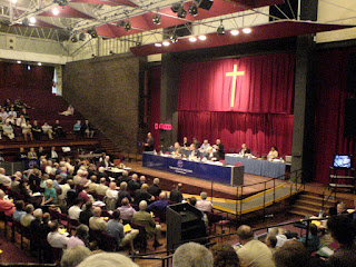 A photo of General Synod in York