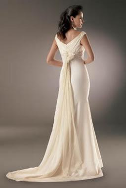 vestidos de noiva cauda longa
