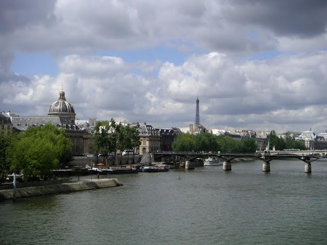 Paris Scene on the Seine