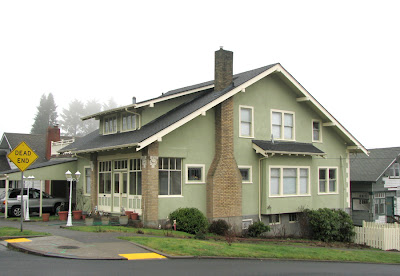 House in Astoria, Oregon