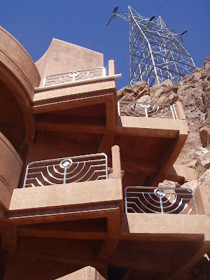 Art Deco Parking Structure, Hoover Dam, California