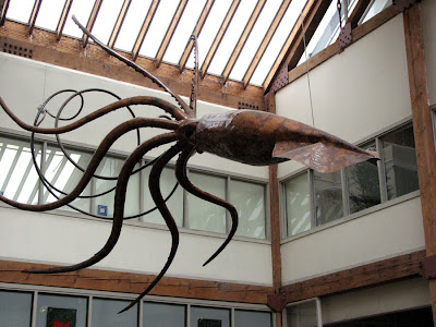 Squid Sculpture, Seattle, Washington