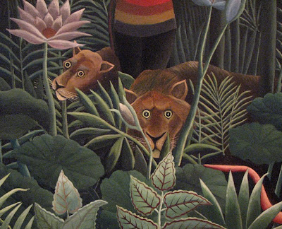 Lions, Rousseau, MoMA, New York