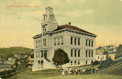 Astoria High School, about 1909