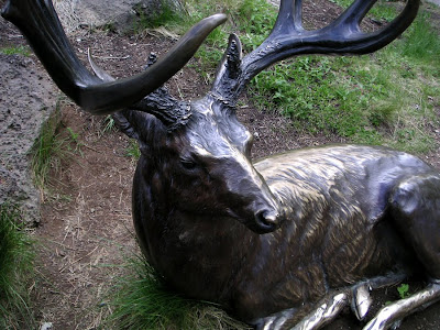 Deer Sculpture, High Desert Museum near Bend, Oregon
