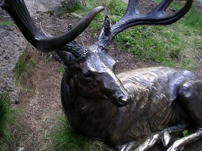Deer Sculpture, High Desert Museum near Bend, Oregon