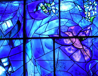 Leaded Glass Dove by Marc Chagall, Art Institute of Chicago