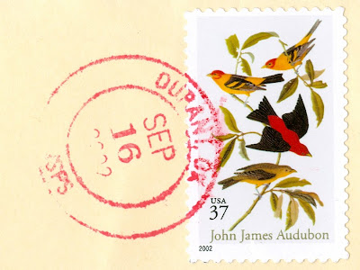 Birds on a U.S. Postage Stamp, 2002