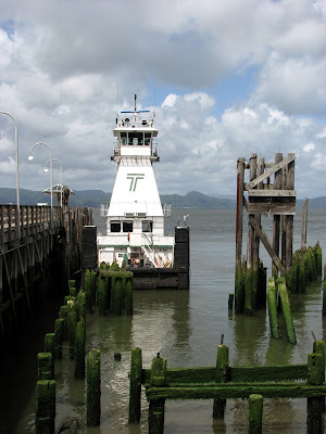 The Towboat _Maverick_ on the Columbia River at Astoria, Oregon