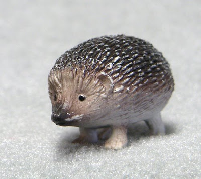 Plastic Toy Hedgehog