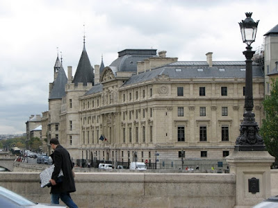 Palais de Justice from Pont Neuf