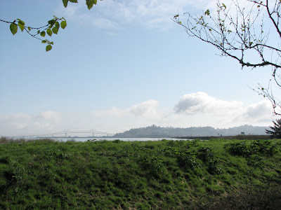 Astoria, Oregon, as seen from Warrenton, Oregon