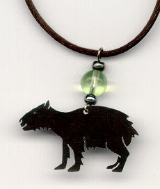 Capybara Jewelry - Earrings, pins, pendants