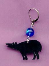Hand-made Tapir Jewelry