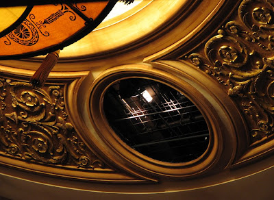 Lighting at the Liberty Theatre, Astoria, Oregon
