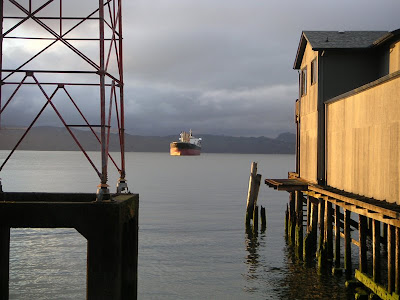 Astoria, Oregon, River Scene