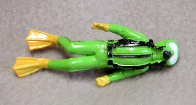Toy Plastic Scuba Diver