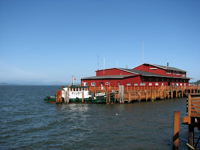 Pilot Boat in dock, Astoria, Oregon