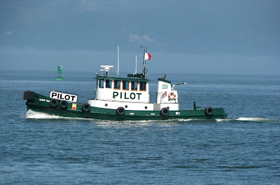 Pilot Boat Arrow No. 2 on the Columbia River, Astoria, Oregon