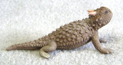 Plastic Toy Horned Toad