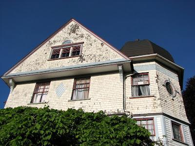 Victorian House with Corner Cupola, Astoria, Oregon