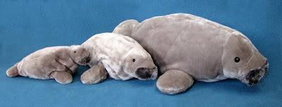 Stuffed Manatee Toy