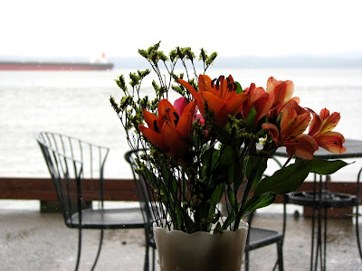 Flowers at Coffee Girl