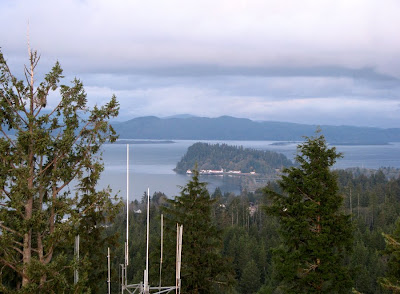Tongue Point from the Astoria Column