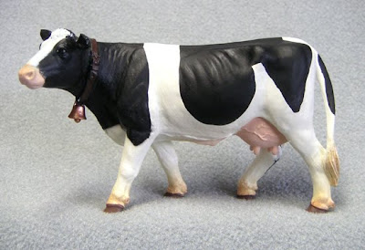 Holstein Cow Replica or Toy