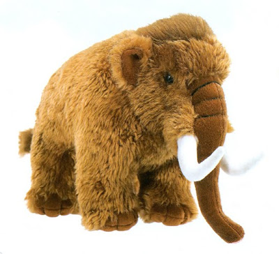 Woolly Mammoth Stuffed Animal Toy - Inexpensive for the Size!